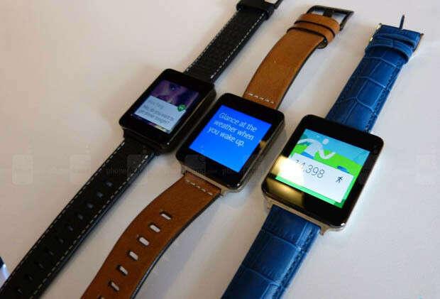 Кожаный ремешок для LG G watch