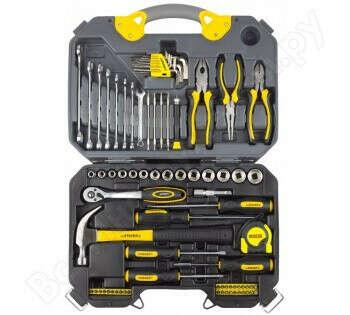 Набор инструментов, 78 предметов, STAYER PROFI 27710-H78
