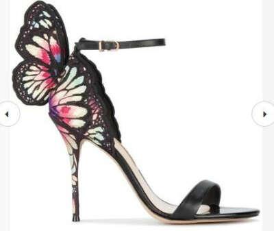 Хочу кожаные босоножки Sophia Webster 'Chiara' со скидкой)))
