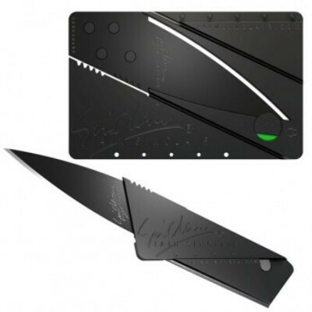 Складной нож кредитка CardSharp2