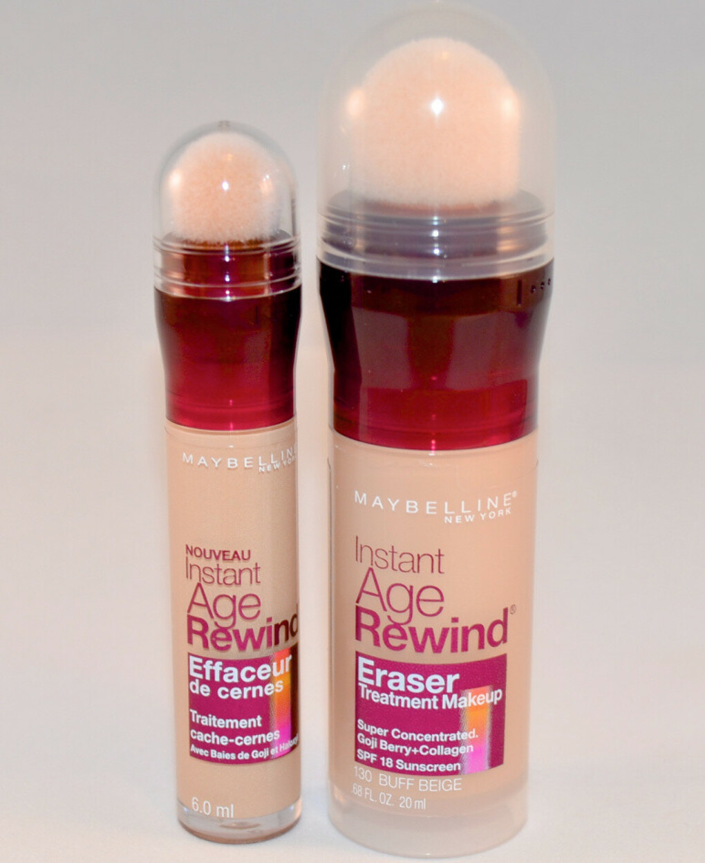 Maybelline Eraser Foundation in Ivory