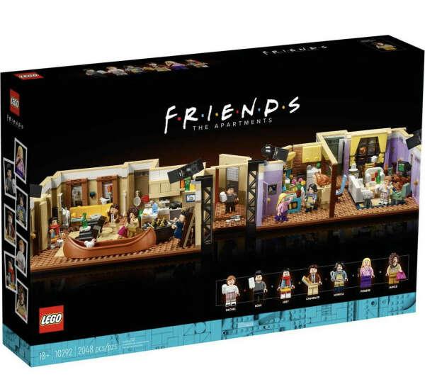 Friends Lego квартиры