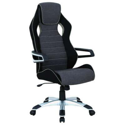 Кресло компьютерное Brabix Techno GM-002 Black/Grey