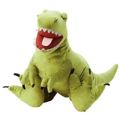 Іграшка м'яка, тиранозавр Рекс, JÄTTELIK ЄТТЕЛІК IKEA