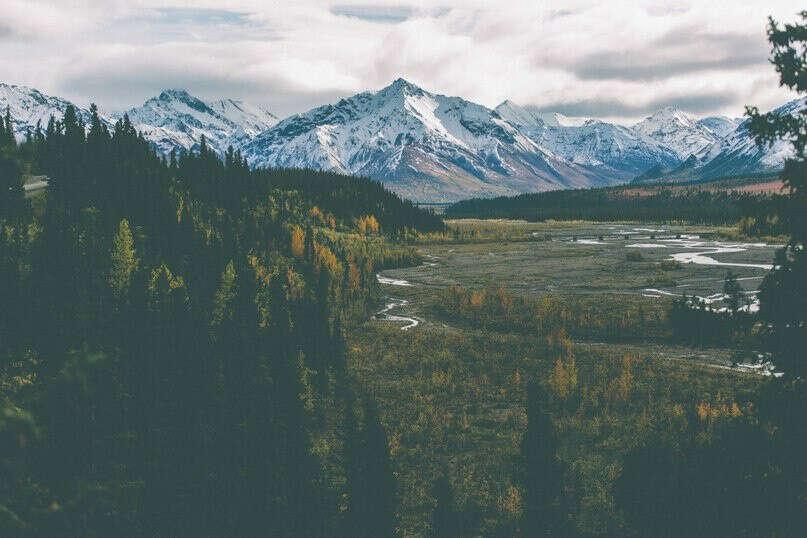 Побывать на Аляске