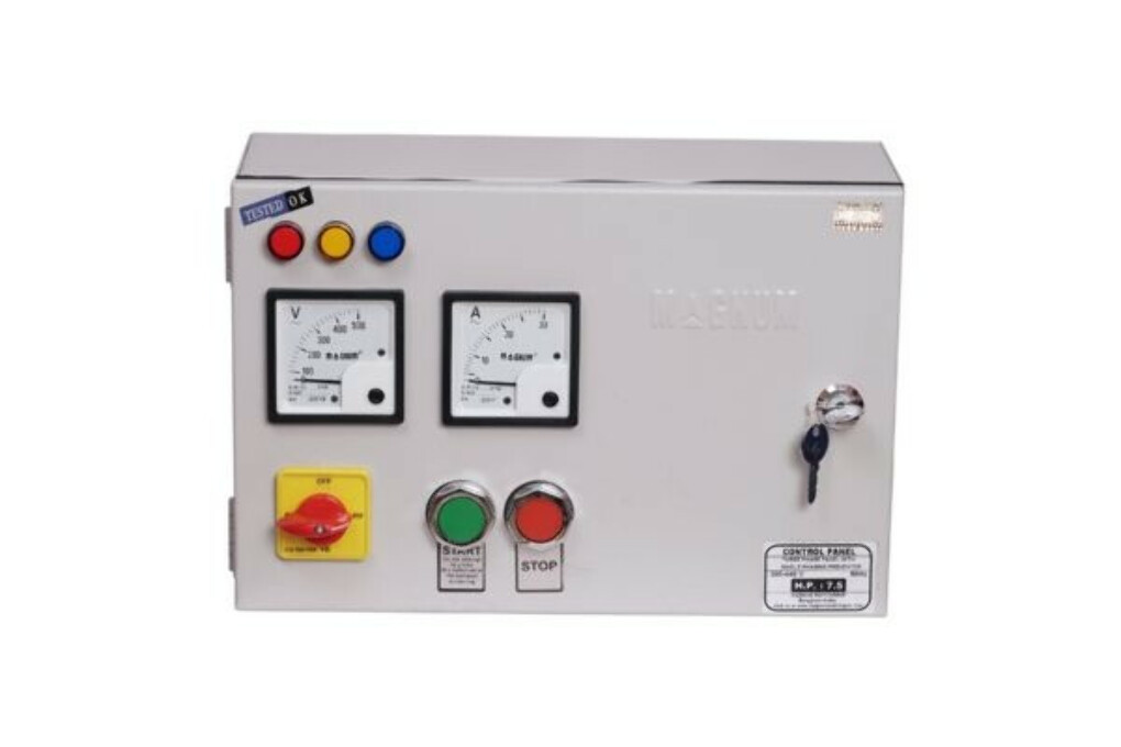 DOL Submersible Pump Panel MaK-1 Three Phase (Gold)