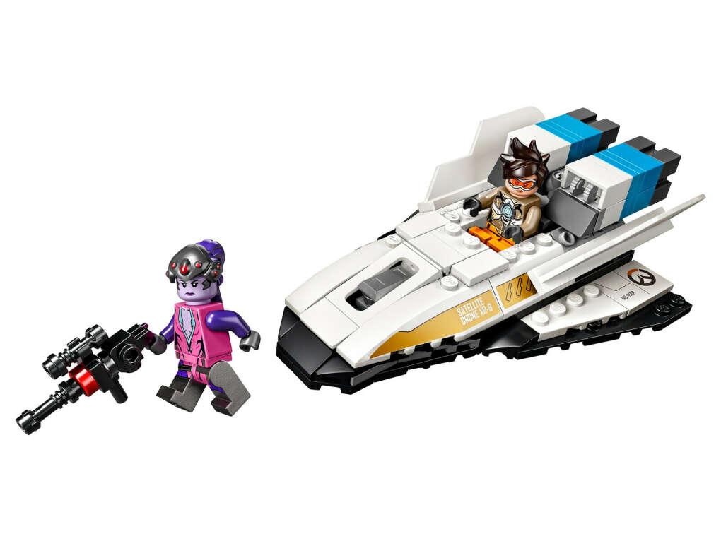 Lego Overwatch 75970 Трейсер против Роковой вдовы