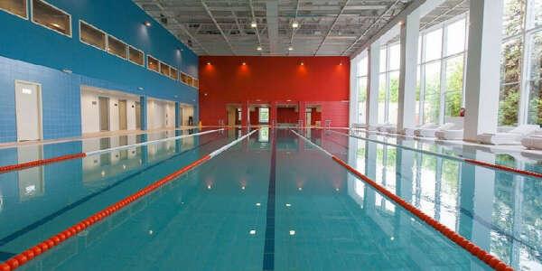 Персональная тренировка в бассейне