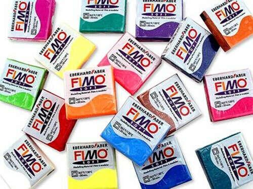 ФИМО СОФТ,   Полимерная глина (пластик)