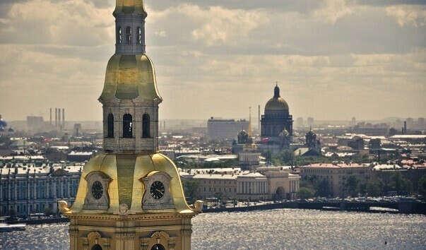 Смотровая Петропавловского собора в Питере