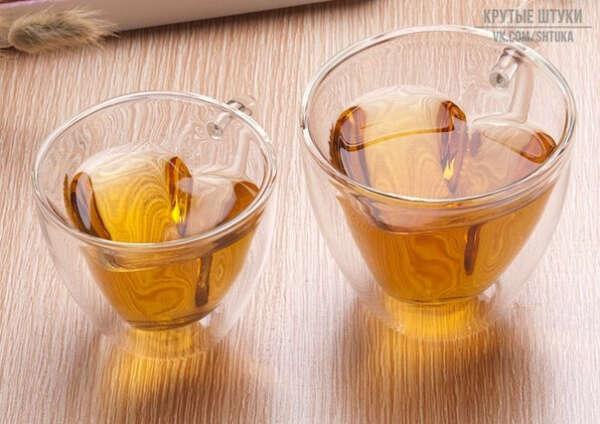 Чашки-сердечки