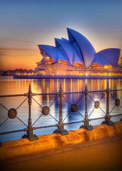 Послушать оперу в Сиднейском оперном театре
