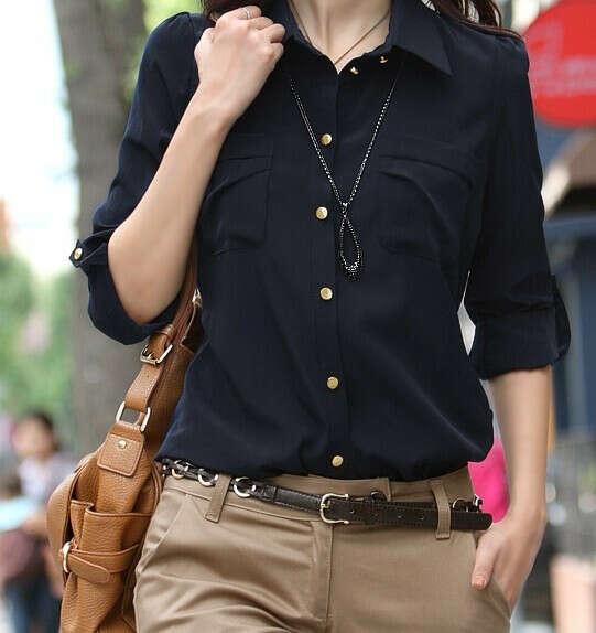 Чёрную рубашку