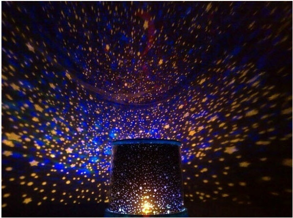 Вращающийся проектор звездного неба STAR ROTATE LIGHT