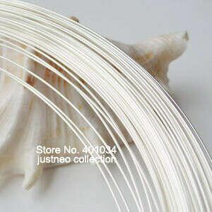 wire, 5 meter 0.8mm 20 gauge 925 sterling silver