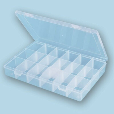 пластиковые контейнеры с ячейками для хранения мелочей