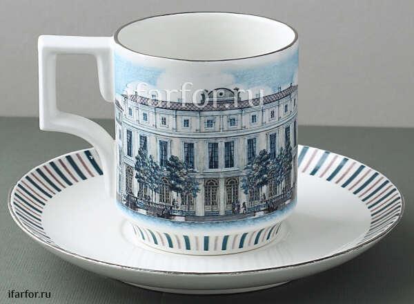 Чашка с блюдцем чайная «Ассамблея»