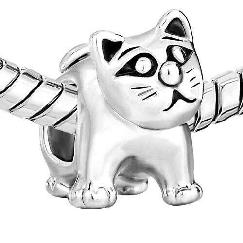 """Подвеска-Charm Pandora """"Котёнок"""" [4140]"""