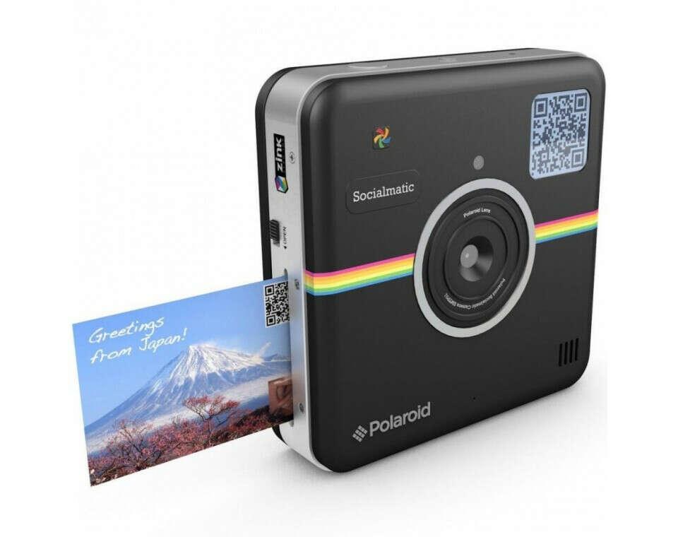 Моментальная фотокамера Polaroid Socialmatic черная
