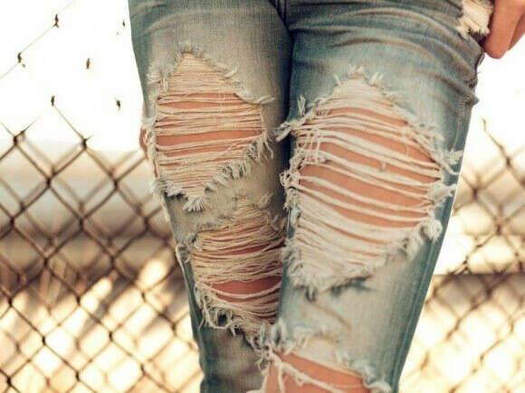 Я хочу рвані джинси !