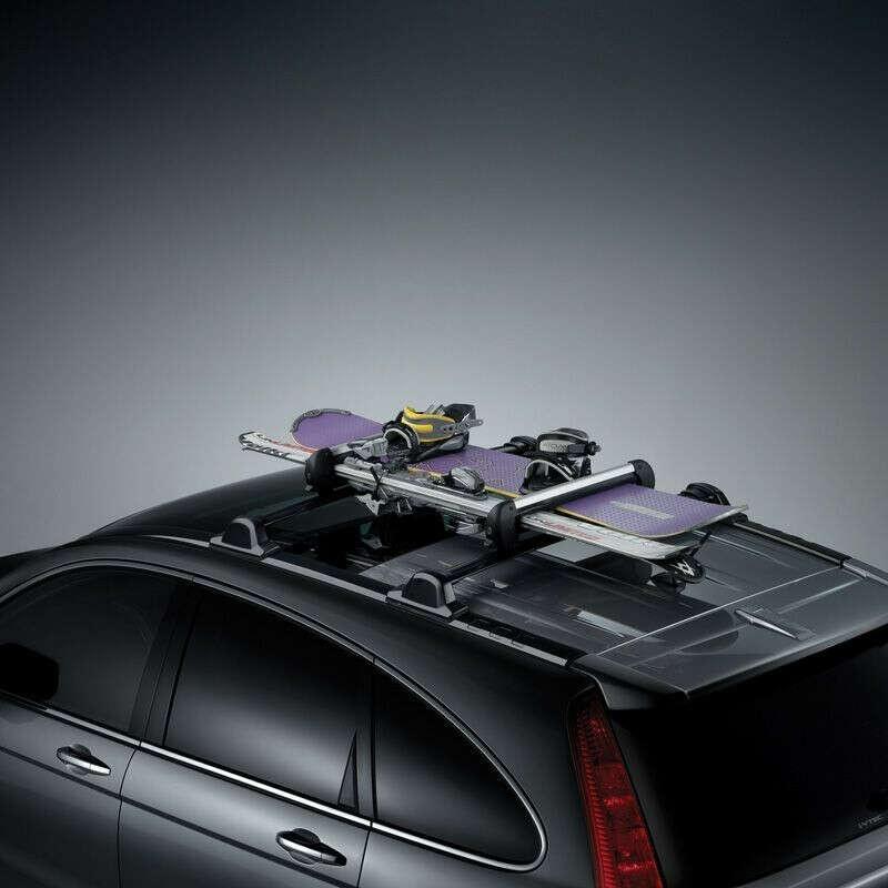 Универсальный багажник для сноуборда и велосипеда на крышу