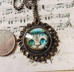 Кулончик Чеширский кот