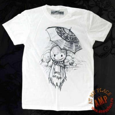 Белая футболка Teru-teru-bozu