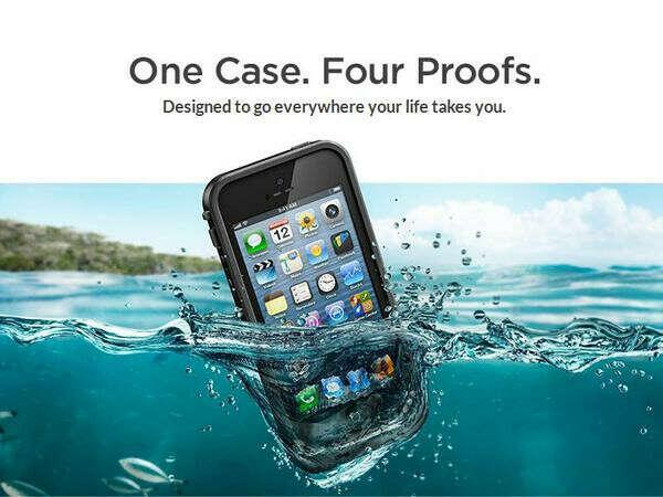 Waterproof IPhone 5 case