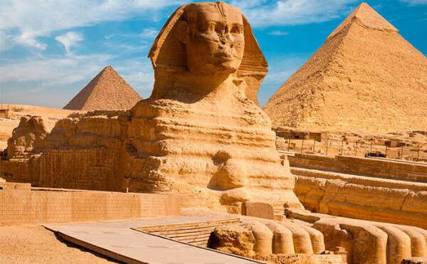 Увидеть пирамиду Сфинкса, Египет
