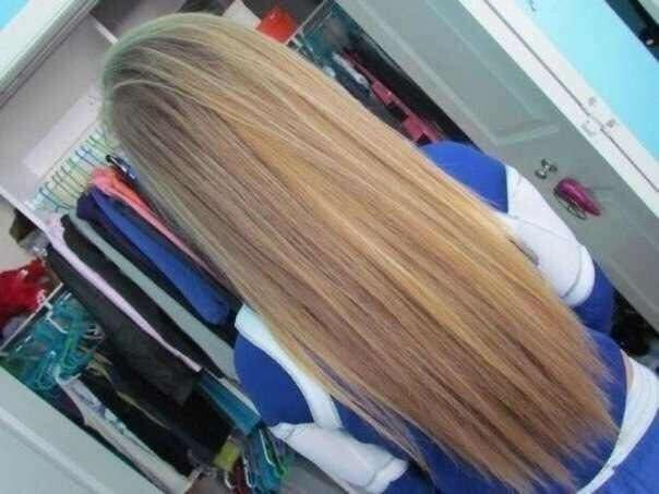Хочу длинные волосы!)