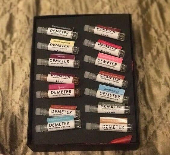 Demeter sample box