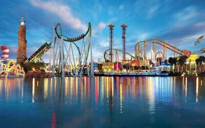 Я хочу в парк развлечений Порт Авенту́ра