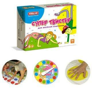 Настольная игра Супер Твистер за 719 рублей