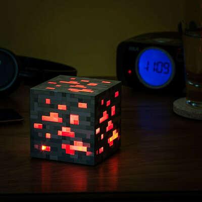 Minecraft Light-Up Redstone Ore