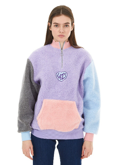 LAZY OAF Colour Block Fleece