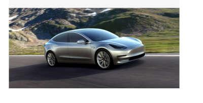 Tesla Model 3 (Accelerating Sustainable Transport)