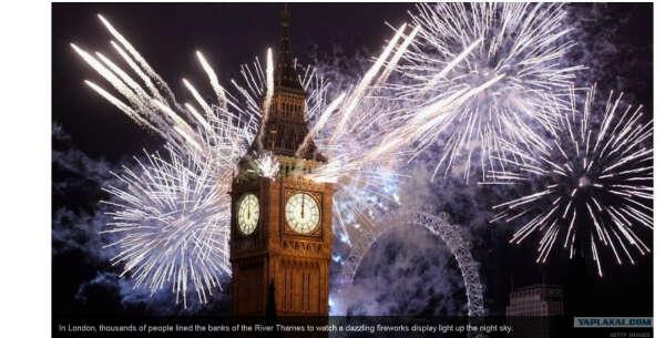 Встретить новый год в Лондоне