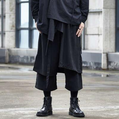 Штаны в японском стиле