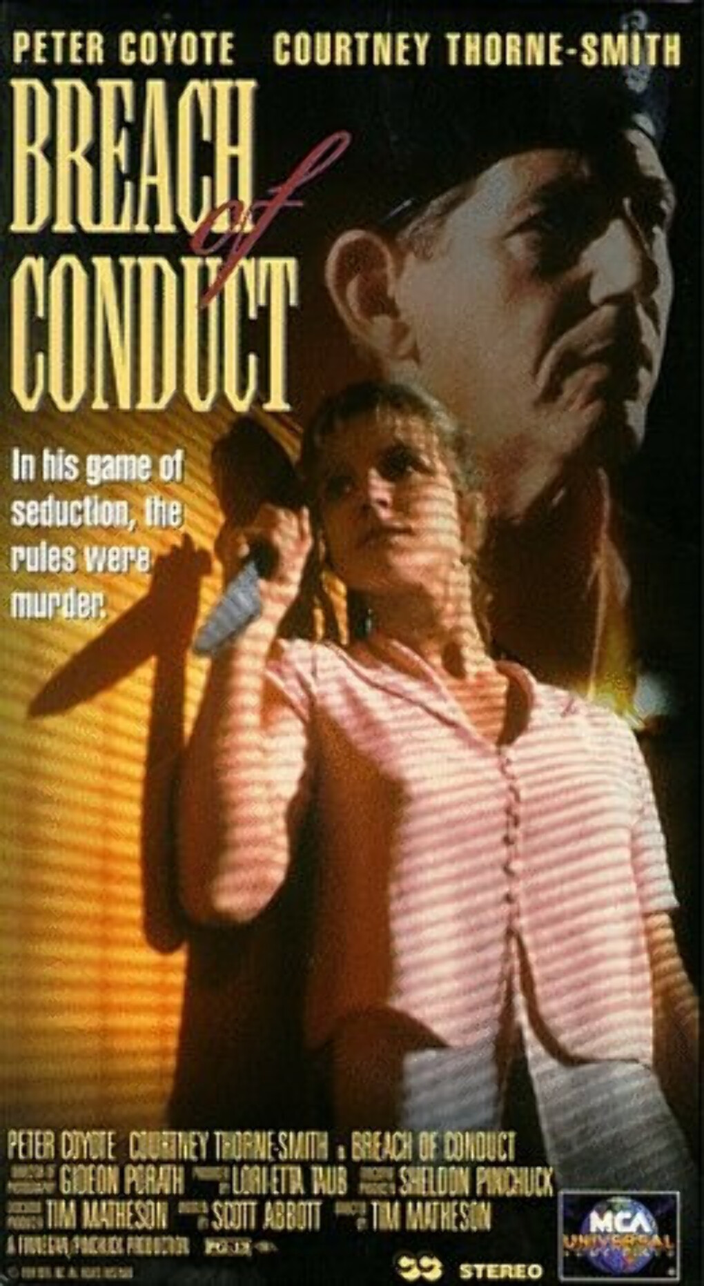 Breach of Conduct [VHS]