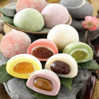 Японский десерт моти - mochi