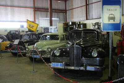 Посетить музей московского такси