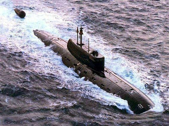 Увидеть подводную лодку