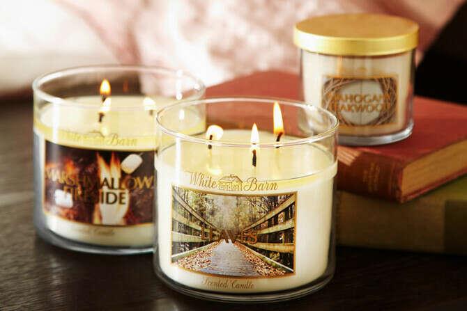 Хочу много свечек от:Bath and BodyWorks
