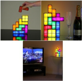 Tetris Lamp Light