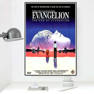 постер евангелион