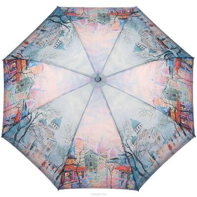 Зонт-трость Zest с акварельным принтом