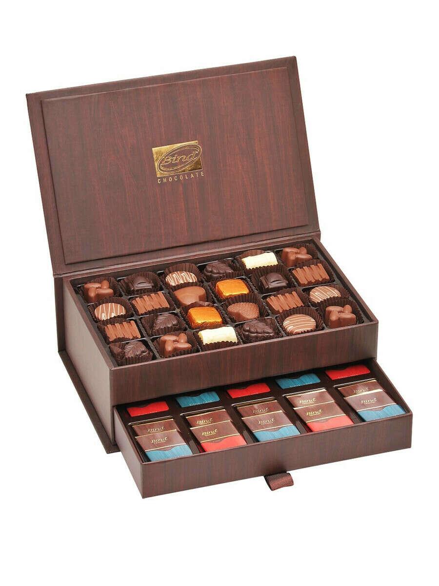 Набор шоколадных конфет Шкатулка 450 гр.