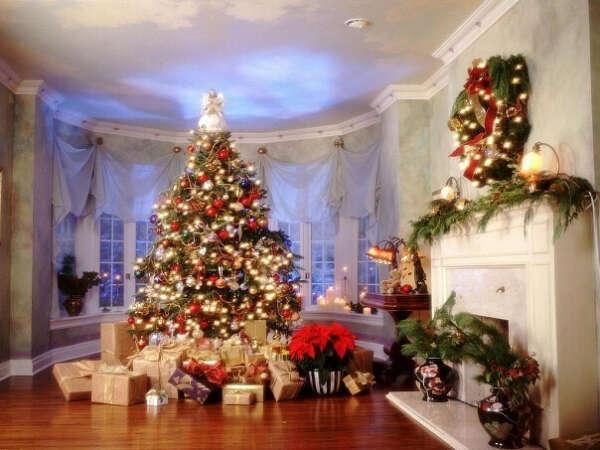 Огромную новогоднюю елку!!!