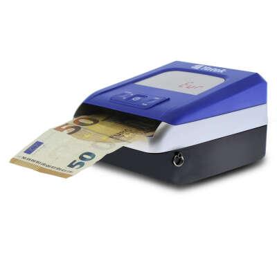 Detector de billetes falsos de Euro Yatek SE-0709, 5 métodos de detección, actualizable, cable de actualización incluido, cuenta y suma el importe de los billetes