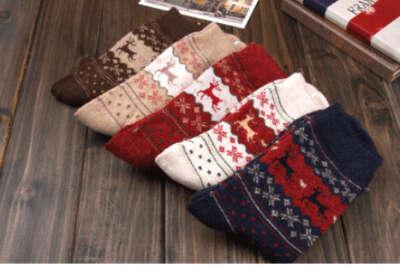Зимний сет из 5 носков